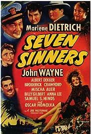 Seven Sinners(1940) Poster - Movie Forum, Cast, Reviews