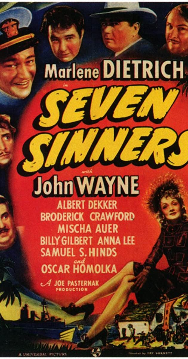 Seven Sinners (1940) - IMDb
