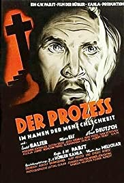 Der Prozeß (1948) Poster - Movie Forum, Cast, Reviews