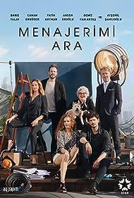 Aysenil Samlioglu, Baris Falay, Canan Erguder, Fatih Artman, Deniz Can Aktas, and Ahsen Eroglu in Menajerimi Ara (2020)