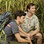 Adam Brody and Rob Huebel in Welcome to the Jungle (2013)