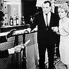 Robert Berri, Eddie Constantine, and Sophie Hardy in Ces dames s'en mêlent (1965)