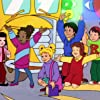 Lisa Jai, Daniel DeSanto, Maia Filar, Erica Luttrell, Tara Meyer, Andre Ottley-Lorant, and Stuart Stone in The Magic School Bus (1994)