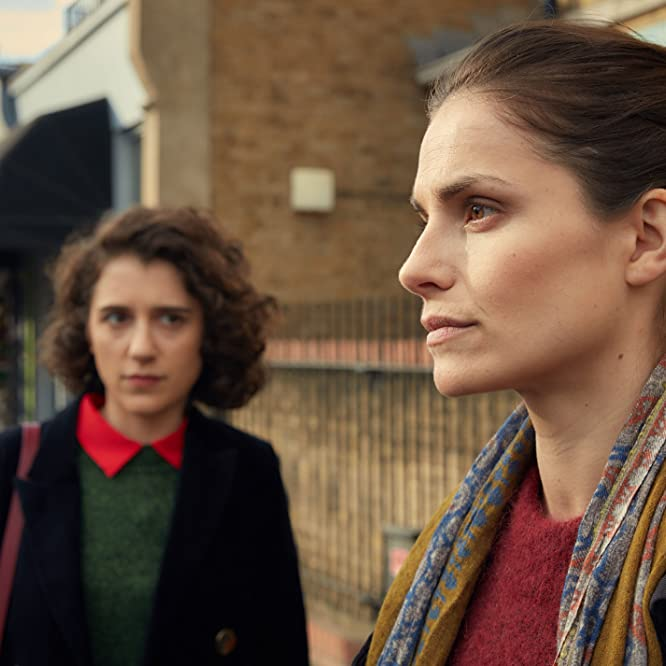 Ellie Kendrick and Charlotte Riley in Press (2018)