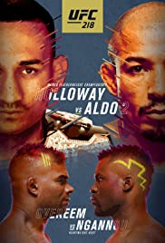 UFC 218: Holloway vs. Aldo 2 Poster
