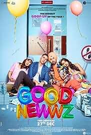 Good Newwz (2019) HDRip hindi Full Movie Watch Online Free MovieRulz