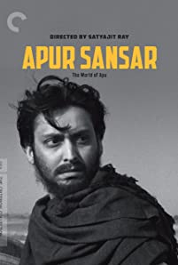 Soumitra Chatterjee in The World of Apu (1959)