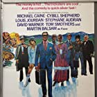 Michael Caine, Stéphane Audran, Martin Balsam, Cybill Shepherd, David Warner, Jay Leno, Louis Jourdan, and Tom Smothers in Silver Bears (1977)