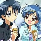 Chihiro Kusaka and Hitomi Terakado in Mermaid Melody Pichi Pichi Pitch (2003)