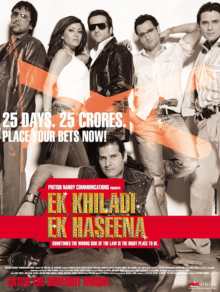 Ek Khiladi Ek Haseena 2005 Hindi Movie NF WebRip 400mb 480p 1.2GB 720p 4GB 7GB 1080p