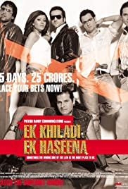 Ek Khiladi Ek Haseena (2005) Poster - Movie Forum, Cast, Reviews