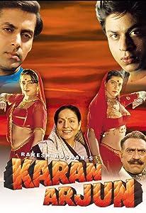 Sites for movie downloads for mobile Karan Arjun [Full]