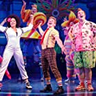 Christina Sajous, Danny Skinner, and Ethan Slater in The SpongeBob Musical: Live on Stage! (2019)