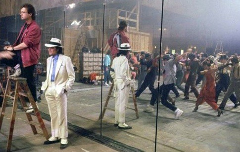 Michael Jackson and Vincent Paterson in Mirroring Michael Jackson (2021)
