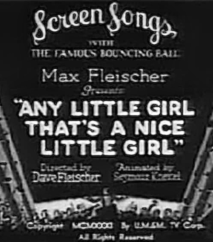 Any Little Girl That's a Nice Little Girl (1931)