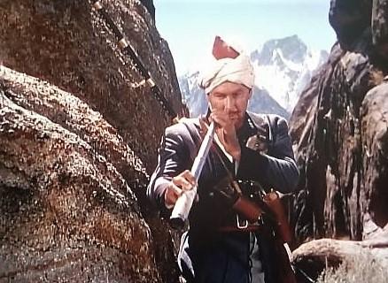 Errol Flynn in Kim (1950)