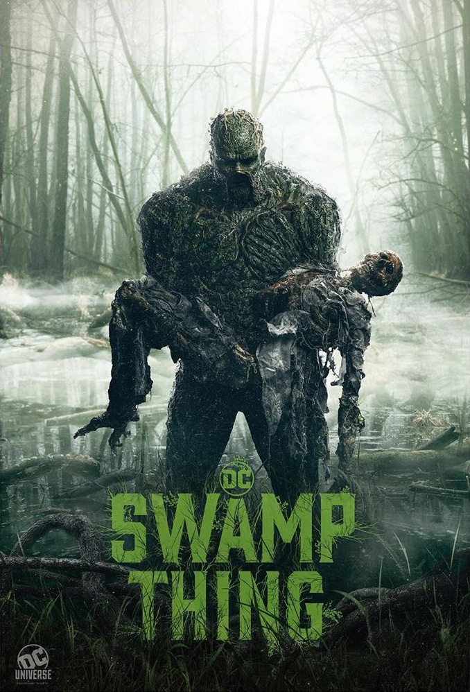 Pelkių žmogus (1 Sezonas) / SWAMP THING Season 1