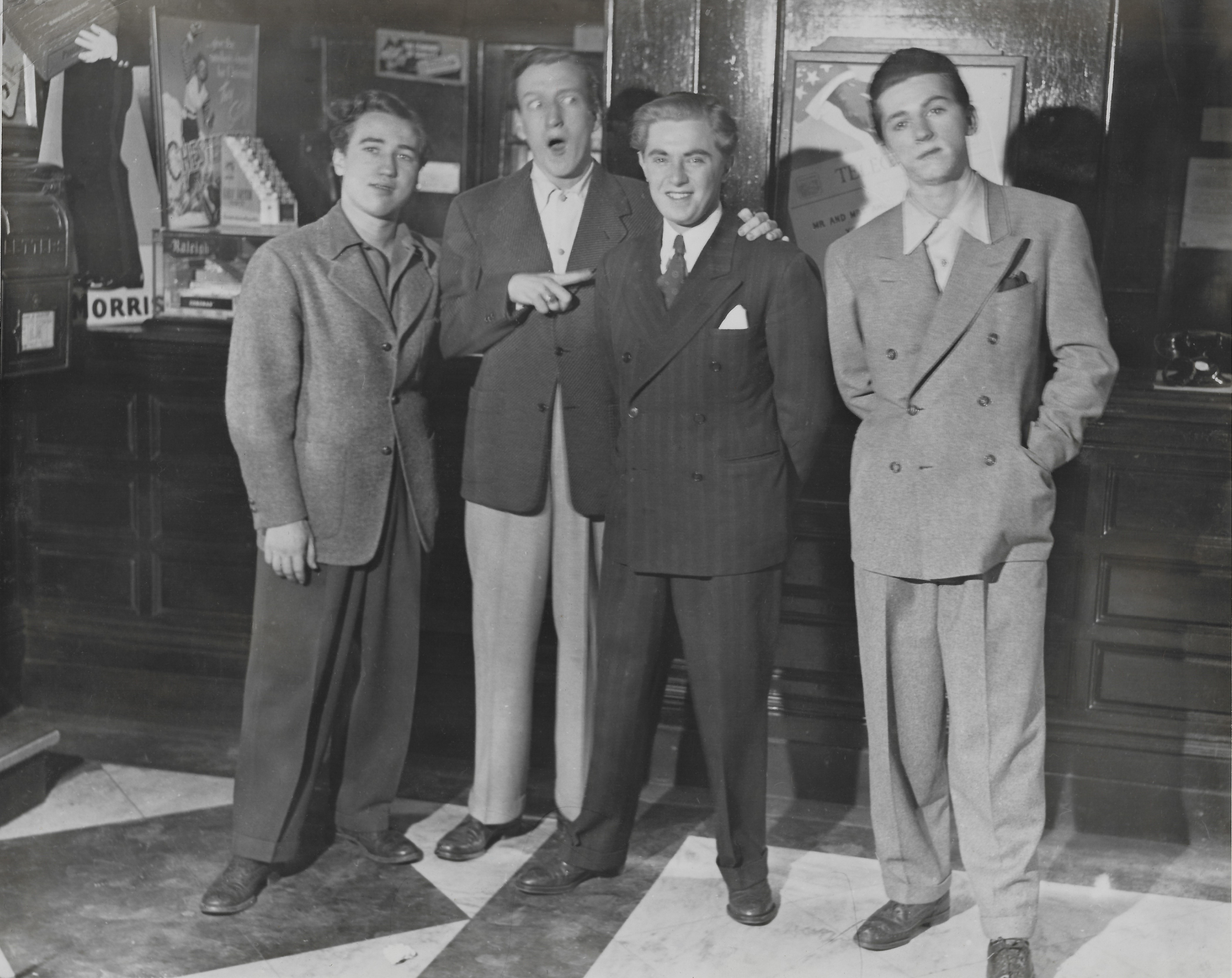 Hal E. Chester, Huntz Hall, Harris Berger, Gabriel Dell