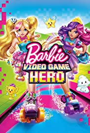 Barbie Video Game Hero Poster