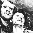 Václav Kotva and Frantisek Peterka in Svatej z Krejcárku (1970)