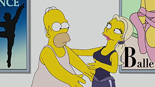 The Simpsons: Homer Learns How To Dance