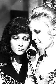 Regina Rázlová and Sylvia Turbová in Sepkajúci fantóm (1976)
