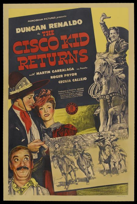 Cecilia Callejo, Martin Garralaga, and Duncan Renaldo in The Cisco Kid Returns (1945)