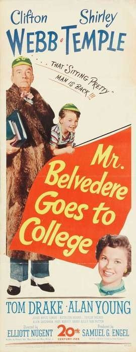 Image result for Mr, Belvedere Goes to College 1949 poster