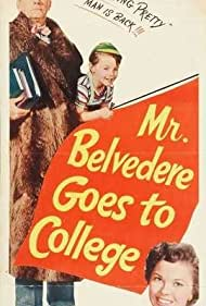 Shirley Temple, Alvin Greenman, and Clifton Webb in Mr. Belvedere Goes to College (1949)