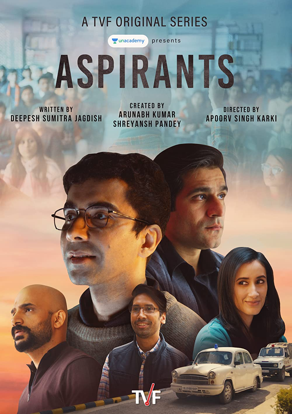 Aspirants 2021 S01 TVF Hindi Complete Series 480p HDRip 700MB
