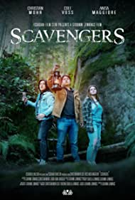 Christian Mohr, Cole Voss, and Anisa Maggiore in Scavengers (2021)