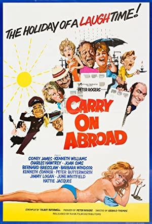 Where to stream Carry on Abroad