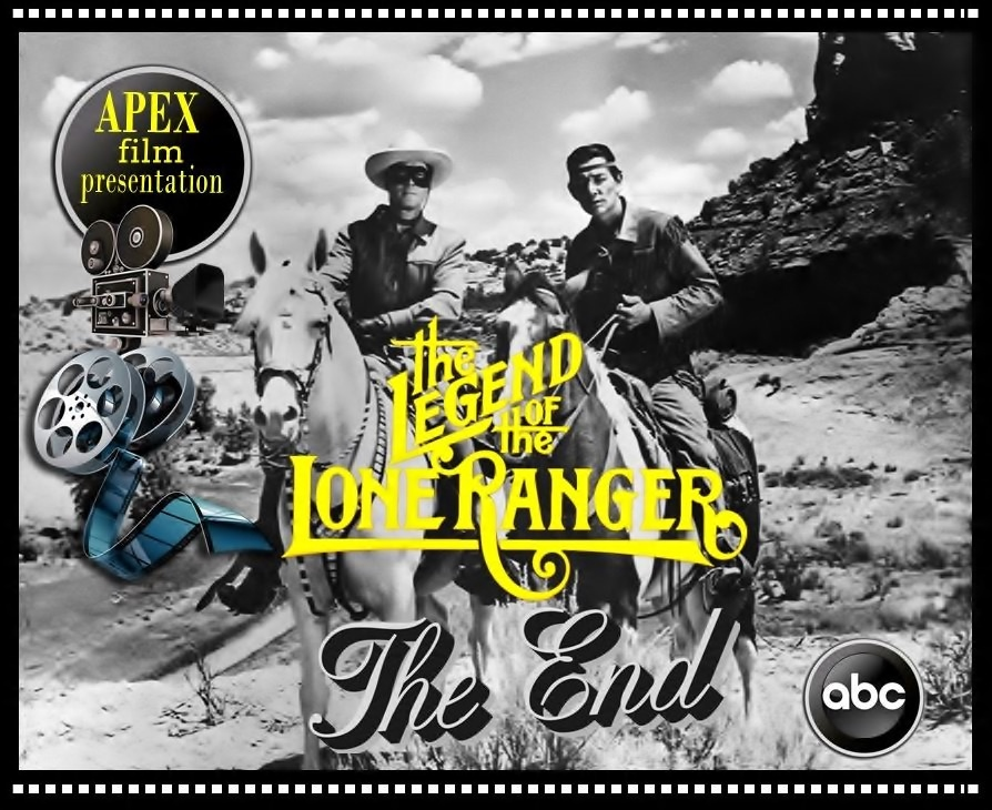 Clayton Moore and Jay Silverheels in The Legend of the Lone Ranger (1952)