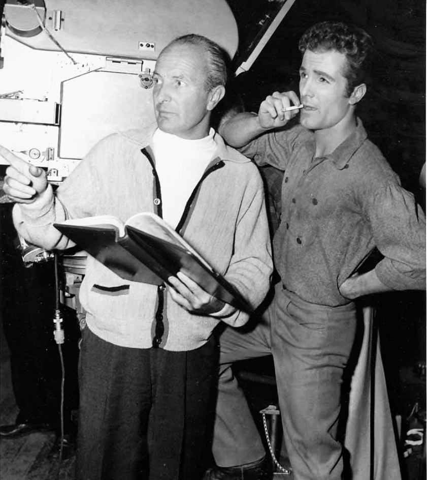 Roy Rowland and Steve Rowland in Gun Glory (1957)