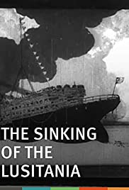 The Sinking of the 'Lusitania' Poster