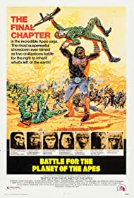Battle for the Planet of the Apes (1973) Poster - Movie Forum, Cast, Reviews
