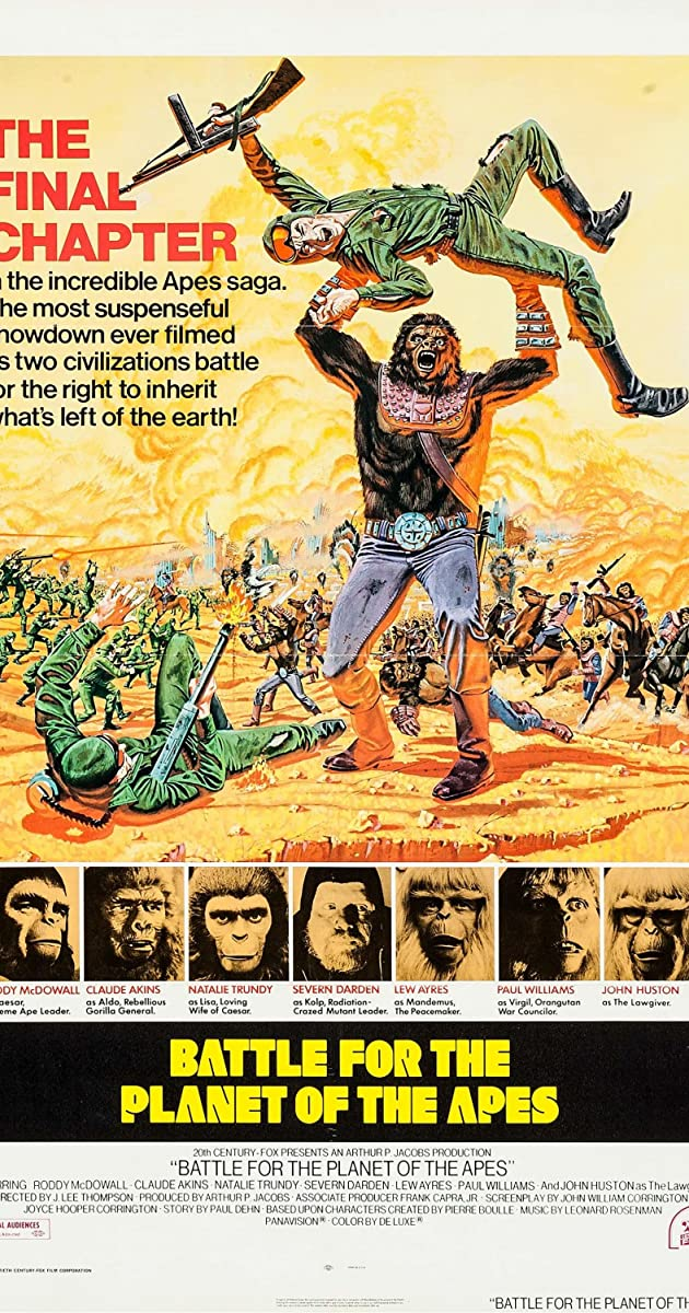 Subtitle of Battle for the Planet of the Apes