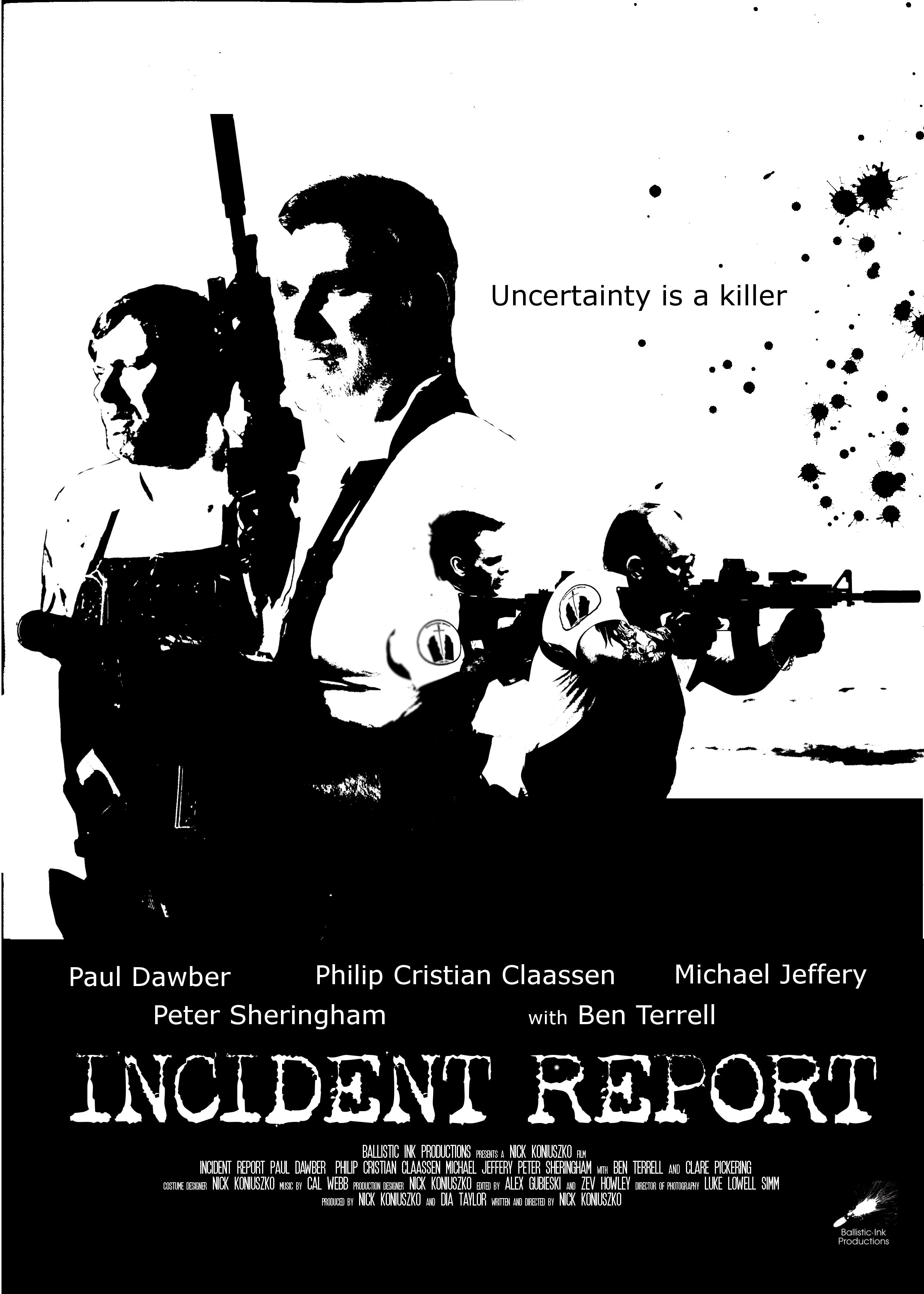 incident report 2018 imdb