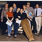 Jon Cryer, Maria Pitillo, Corinne Bohrer, Tate Donovan, and Catherine Lloyd Burns in Partners (1995)