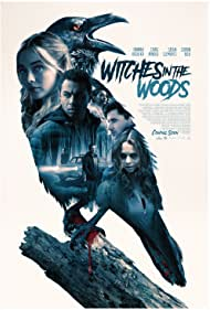 Corbin Bleu, Sasha Clements, Hannah Kasulka, Alexander De Jordy, Kyle Mac, Craig Arnold, and Humberly González in Witches in the Woods (2019)