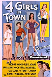 Four Girls in Town Poster