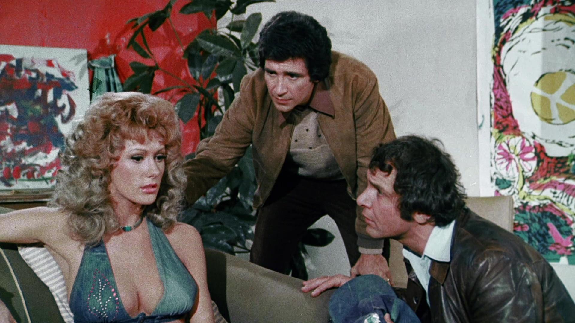 Frank Calcanini, Michael Pataki, and Robyn Hilton in The Last Porno Flick (1974)