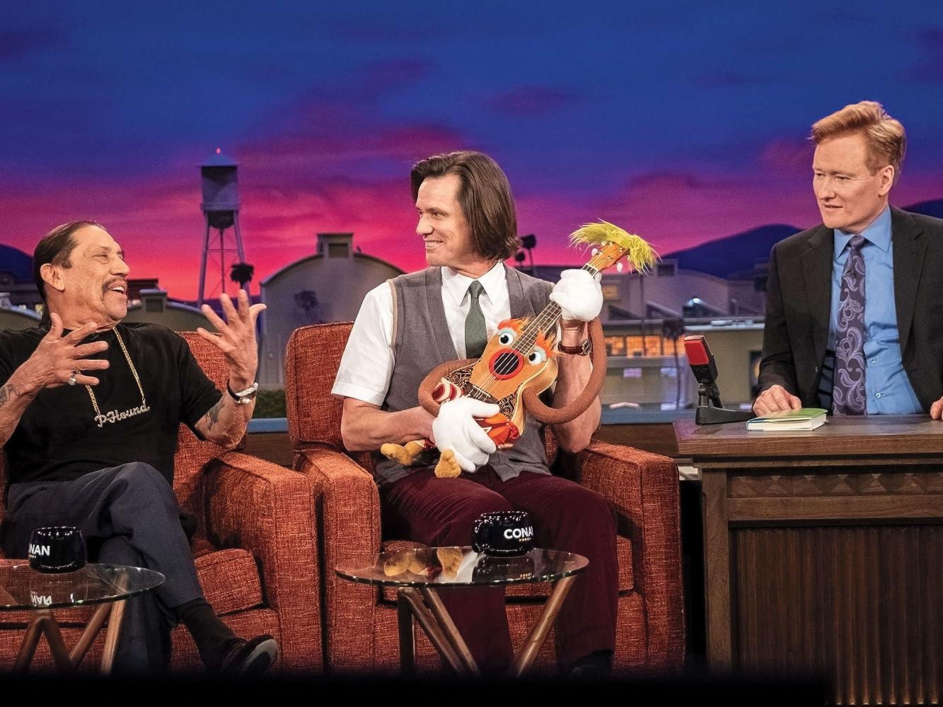 Jim Carrey, Danny Trejo, and Conan O'Brien in Kidding (2018)