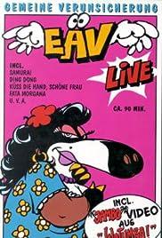 EAV Live - Neunzig Minuten gemeine Verunsicherung Poster