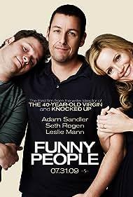 Adam Sandler, Leslie Mann, and Seth Rogen in Funny People (2009)