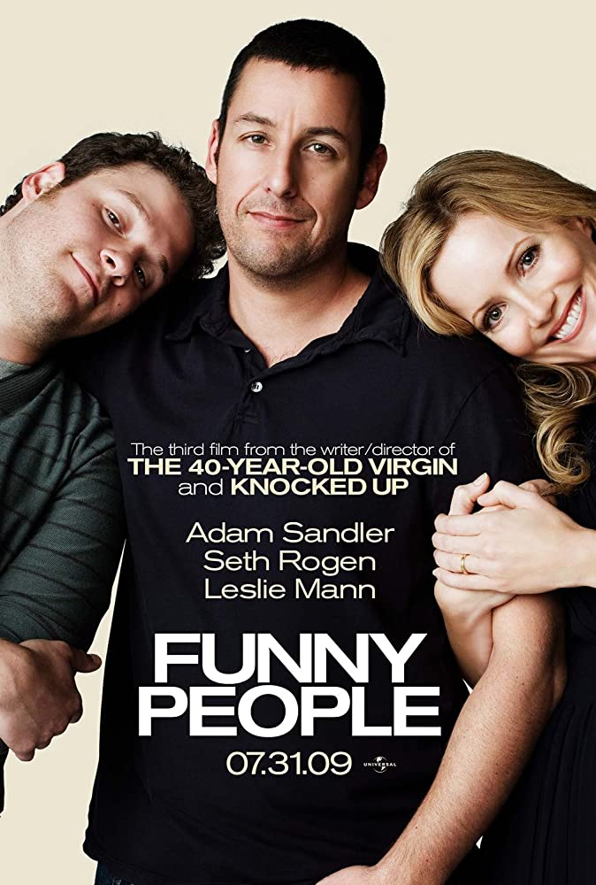 Funny People (2009) Hindi Dubbed