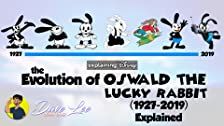 Evolution of Oswald the Lucky Rabbit (1927-2019)
