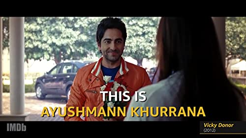 "Ayushmann Khurrana of 'Badhaai Ho:' ""No Small Parts"""