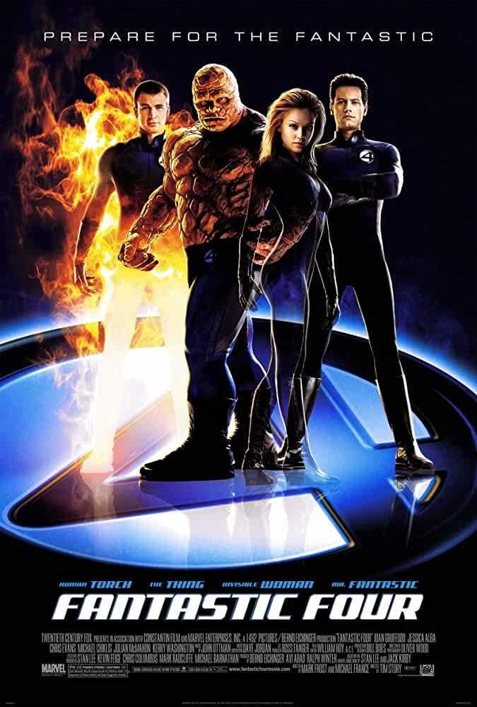 Fantastic Four (2005) Full Movie In Hindi-English (Dual Audio) Bluray 480p | 720p