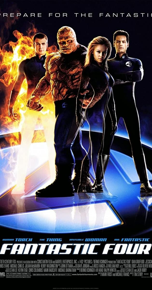 Watch Full HD Movie Fantastic Four (2005)